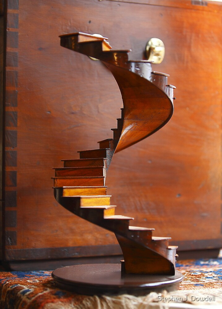 Stairway to — Who Knows Where? by Stephen J  Dowdell