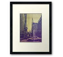 New York (Empire State) Framed Print