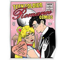 Teen Soldier Romance Comics Poster