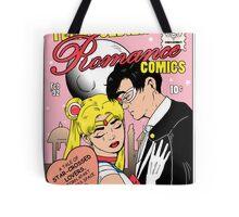 Teen Soldier Romance Comics Tote Bag