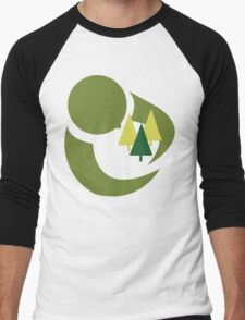 """Earth Day """"Save The Trees"""" Men's Baseball ¾ T-Shirt"""