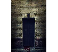 Bloody Door Photographic Print