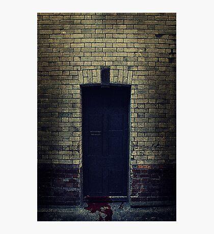 Bloody Door Photographic Print