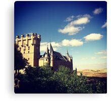 Old City Segovia (Spain) Canvas Print