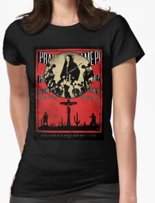 Dead Folks Womens Fitted T-Shirt