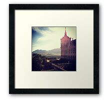 Spanish Palace Framed Print