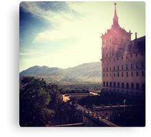 Spanish Palace Canvas Print