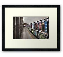 subway station Framed Print