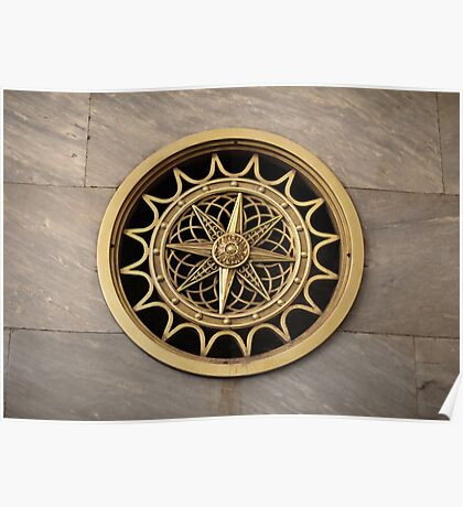 Decorative air vent Poster