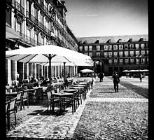 Plaza Mayor in Madrid by Jonathan Evans