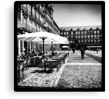 Plaza Mayor in Madrid Canvas Print