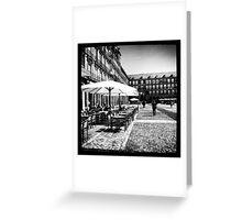 Plaza Mayor in Madrid Greeting Card
