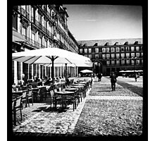 Plaza Mayor in Madrid Photographic Print