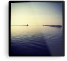 Still, calm lake Metal Print