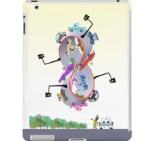 infinity road iPad Case/Skin