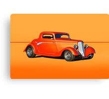 1934 Ford Coupe w/o ID Canvas Print