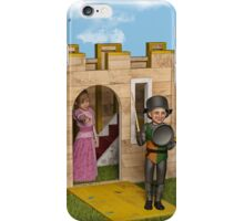 The Princess and The Knight - Playtime iPhone Case/Skin