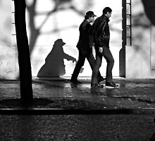 A Following Shadow ... by Berns
