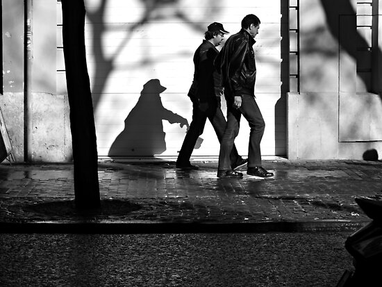 A Following Shadow ... by Berns