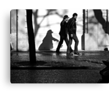 A Following Shadow ... Canvas Print