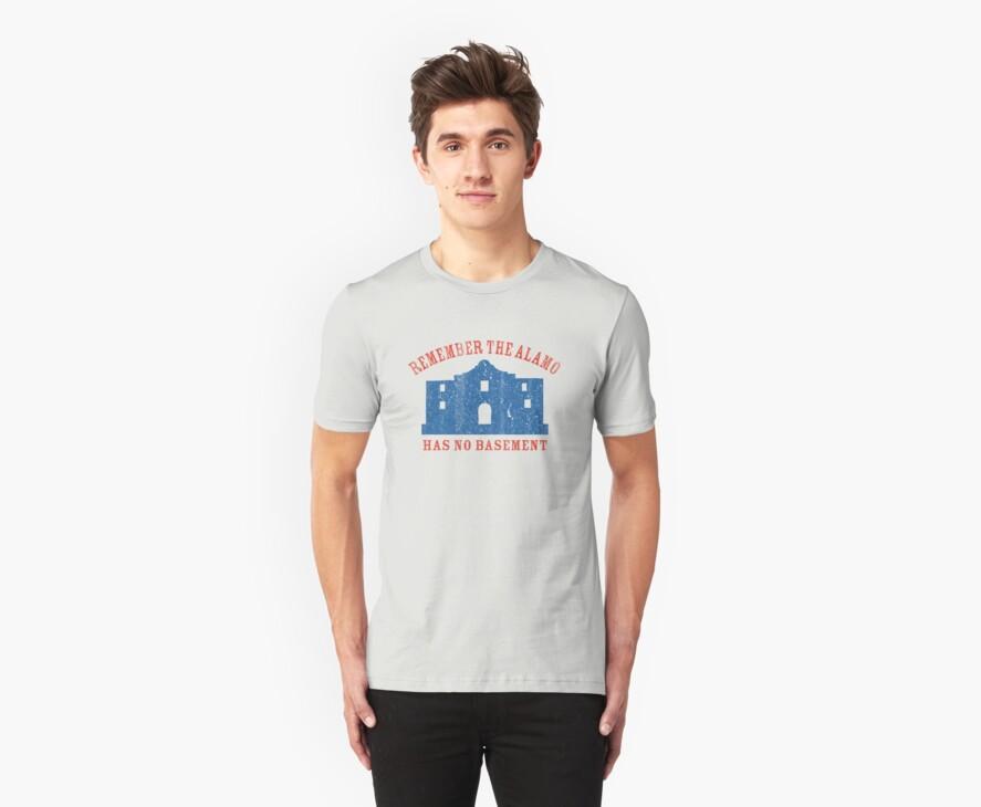 Vintage Alamo Has No Basement by colorhouse