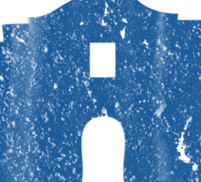 Vintage Alamo Has No Basement Sticker