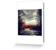 Where the sun shines Greeting Card