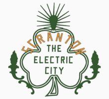 Scranton Parade Day - Orange & Green Solid by Mare7221