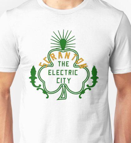 Scranton Parade Day - Orange & Green Solid Unisex T-Shirt