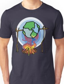 Global Warming Earth Day Unisex T-Shirt