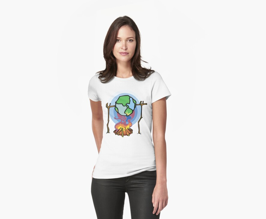 Global Warming Earth Day by HolidayT-Shirts