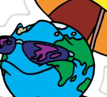 "Earth Day ""Keep It Cool - Stop Global Warming"" Sticker"