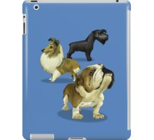 The dogs caricature 02 iPad Case/Skin