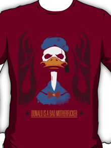 Donald Duck Bad Motherfucker T-Shirt