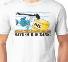 "Earth Day ""Save Our Oceans"" Unisex T-Shirt"