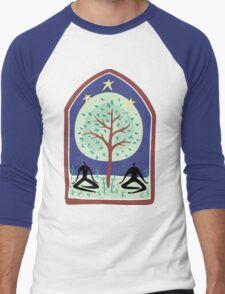 """Earth Day """"Tree Spirit"""" Men's Baseball ¾ T-Shirt"""