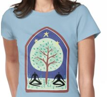 "Earth Day ""Tree Spirit"" Womens Fitted T-Shirt"