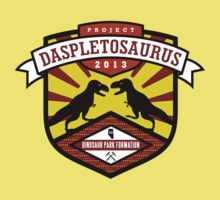 Project Daspletosaurus Tee - Light Color Kids Clothes