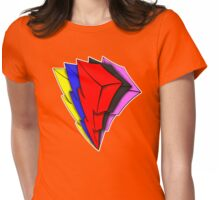 Powerful Lightning Womens Fitted T-Shirt