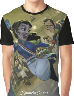 Manuela Saenz - Rejected Princesses Graphic T-Shirt