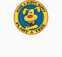"""Earth Day """"Make A Puppy Happy - Plant A Tree"""" T-Shirt"""