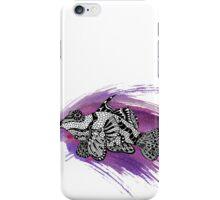 Fish & Watercolor Splash iPhone Case/Skin