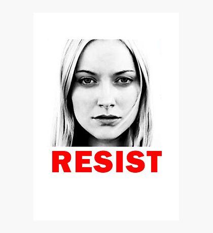 Resist Photographic Print