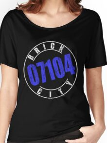 'Brick City 07104' (w) Women's Relaxed Fit T-Shirt