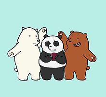 We Bare Bears! by SpiralSoldier