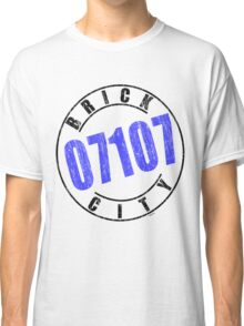 'Brick City 07107' Classic T-Shirt