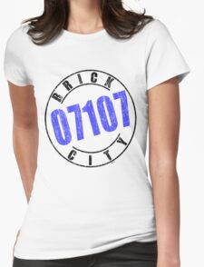 'Brick City 07107' Womens Fitted T-Shirt