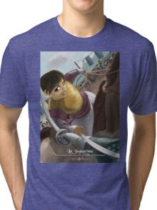 La Jaguarina - Rejected Princesses Tri-blend T-Shirt