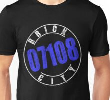 'Brick City 07108' (w) Unisex T-Shirt