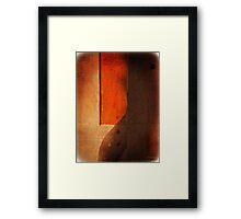 Orange Shades Number 6 Framed Print